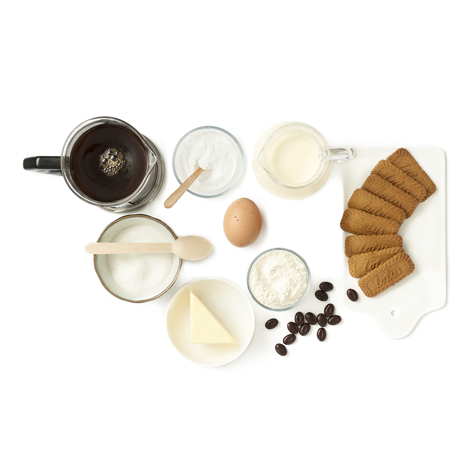 Ingredients Cupcake Biscuit Original Speculoos Lotus & crème café